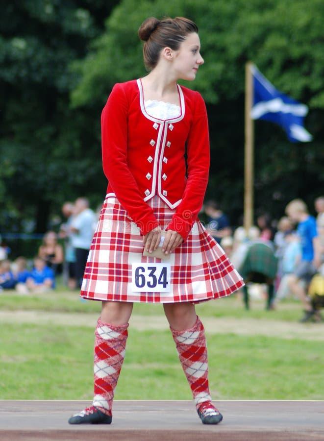 Download Highland Dancer editorial stock image. Image of highland - 10945084