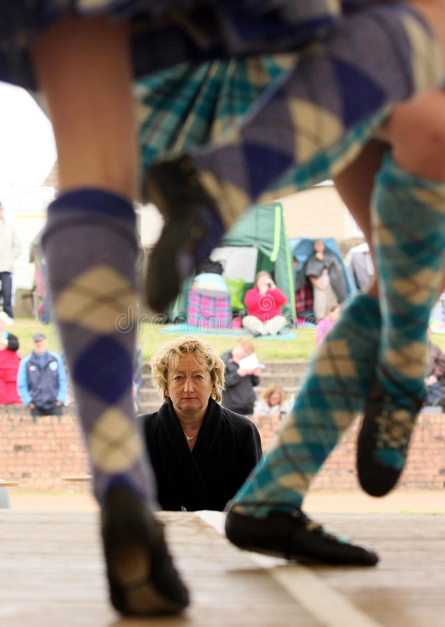 Highland Games royalty free stock photography
