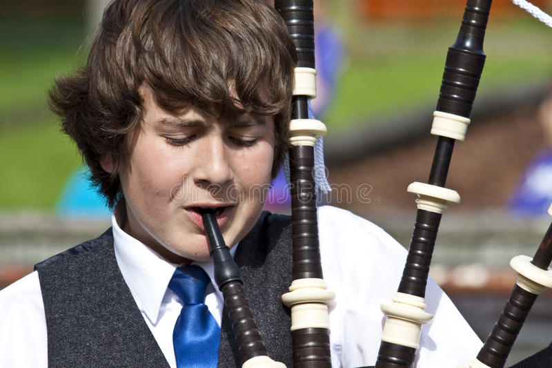 Highland games scotland stock image