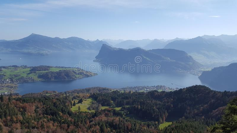 Highland, Mount Scenery, Hill Station, Mountain royalty free stock image