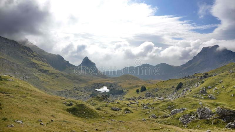 Highland, Mountainous Landforms, Mountain, Valley royalty free stock images