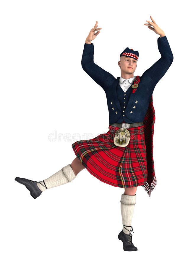 highlander royaltyfri foto