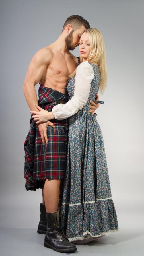 highlander fotografia stock