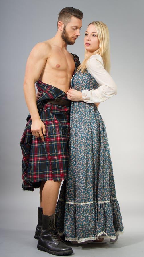 highlander lizenzfreie stockfotografie