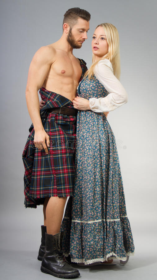 highlander fotografia stock libera da diritti