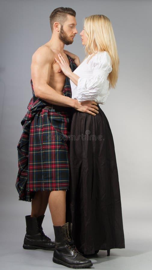Highlander stock photo