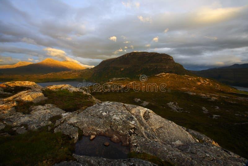 highlands superb στοκ εικόνα