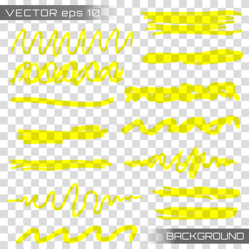 Highlight marker vector vector illustration