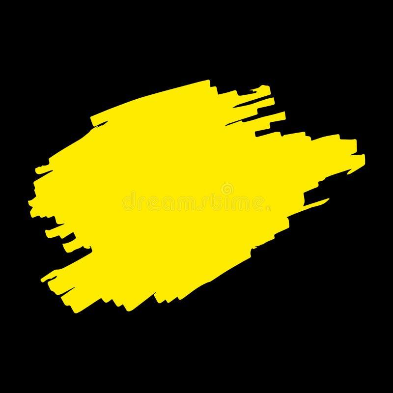 Highlighter Marker Strokes vector illustration
