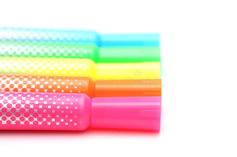 highlighters photo stock