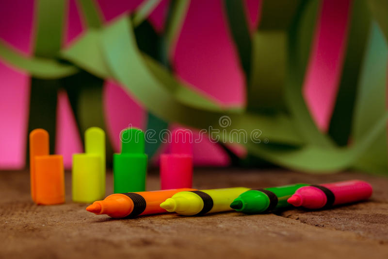 highlighters image stock