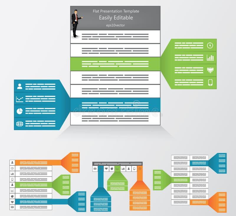 Highlighting template stock illustration