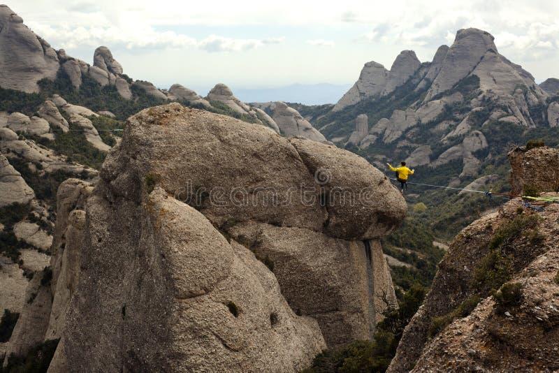 Download Highline editorial photo. Image of rock, rope, highline - 34012726