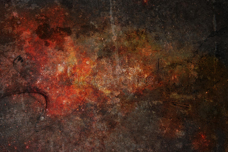 Highly Detailed Grunge Metal Background Texture. A very highly detailed grunge rusty, metal like background texture image distressed an with scratches royalty free stock image