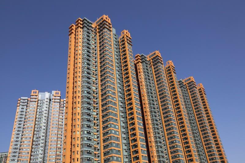 highrise жилых домов стоковое изображение