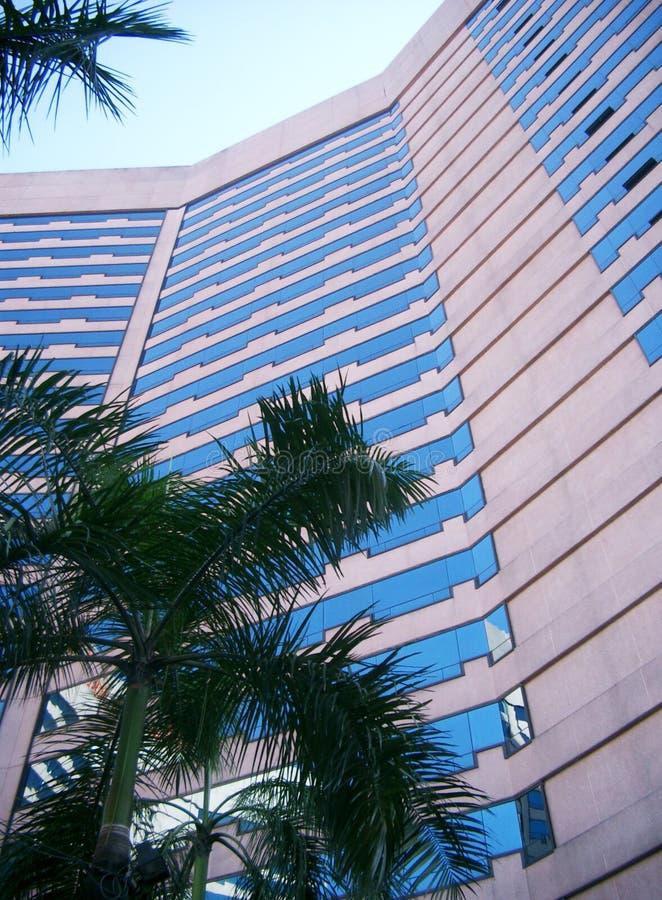 Highrise здания Стоковое фото RF