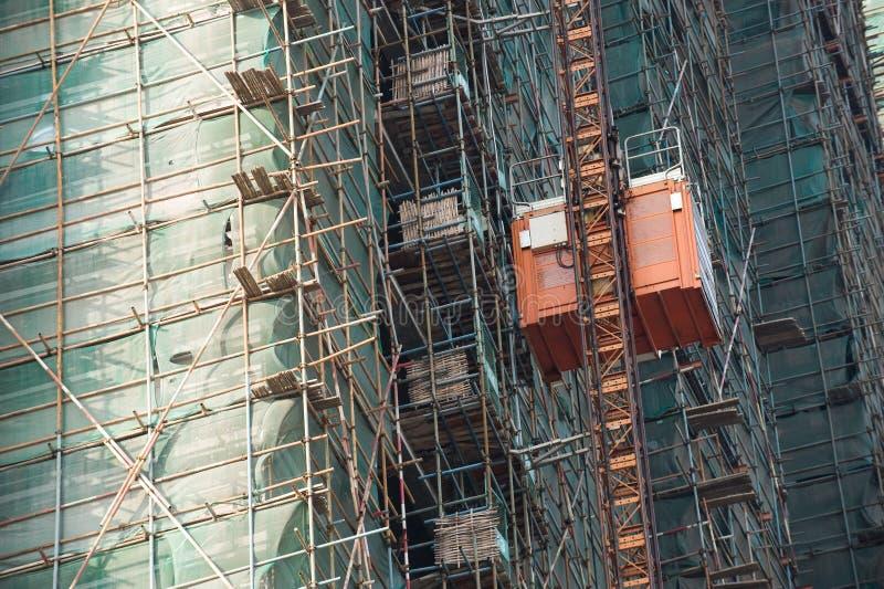 Highrise bouw royalty-vrije stock foto