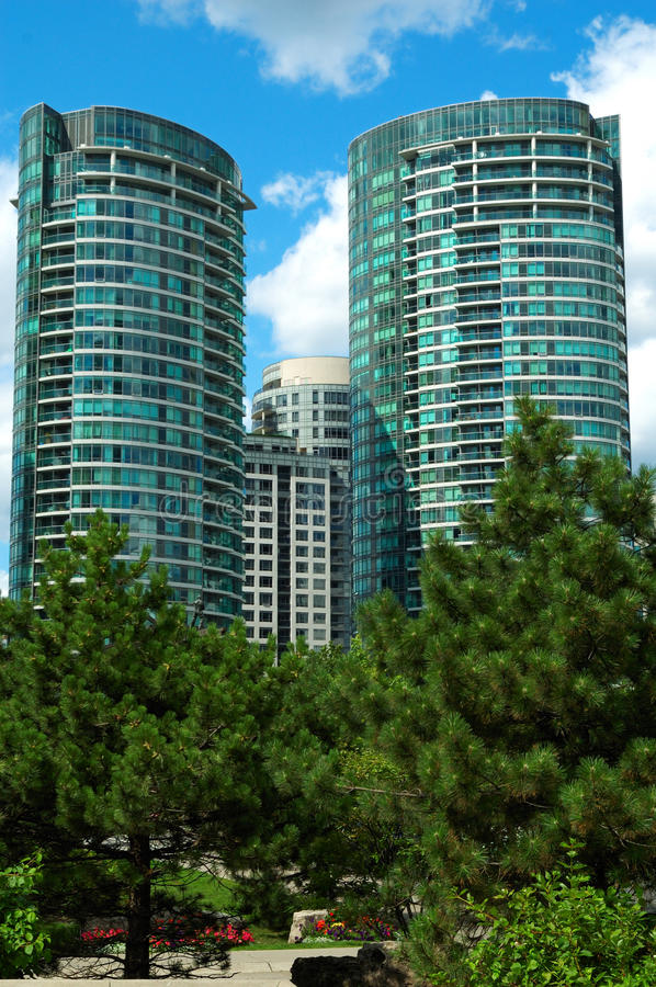 Free Highrise Condominiums Stock Images - 11120034