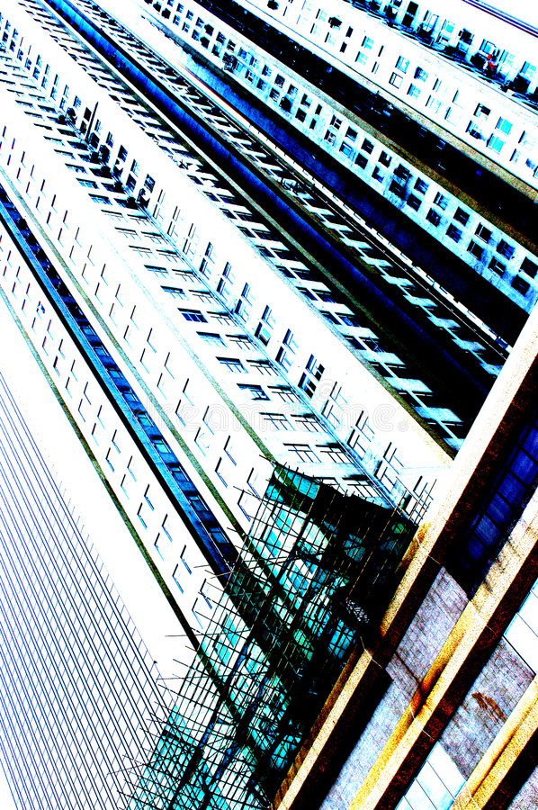 Highrise de Hong Kong fotografia de stock royalty free
