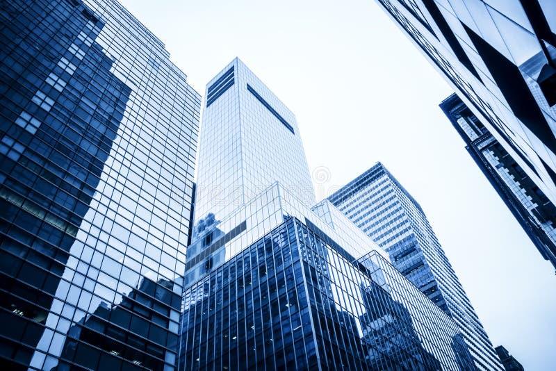 Highrise gebouwen stock afbeelding