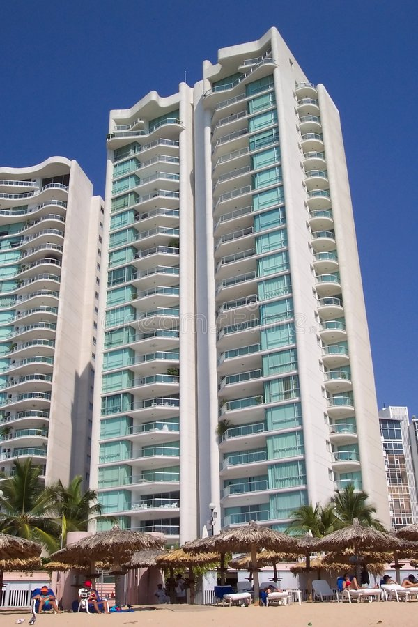 Highrise Tropicale Immagini Stock