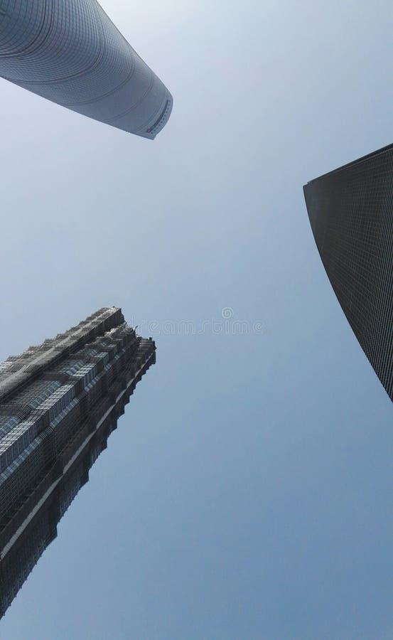 Highrises a Shanghai immagini stock libere da diritti