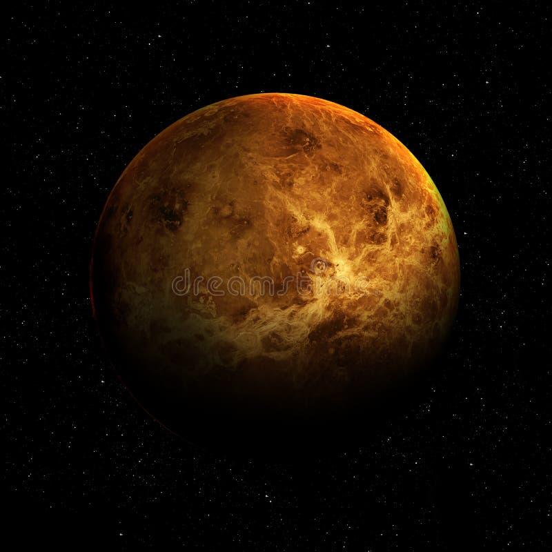 Hight质量金星图象 库存例证