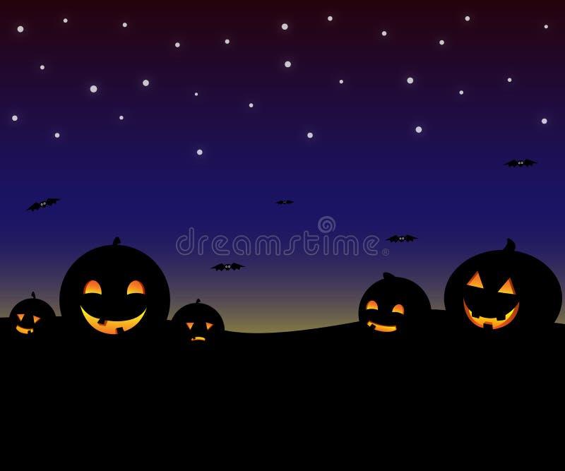 Hight de Halloween imagens de stock