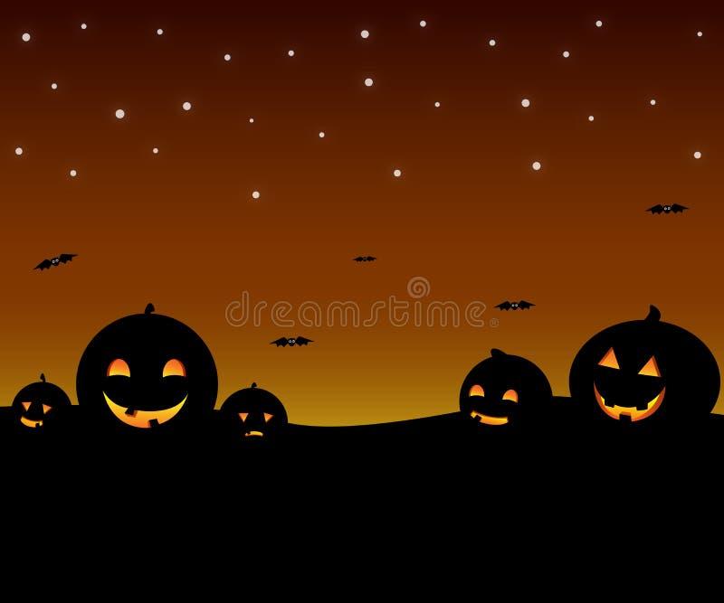 Hight de Halloween foto de stock royalty free