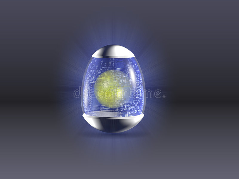 Download Hight Technology Easter Egg Stock Illustration - Illustration: 2071250