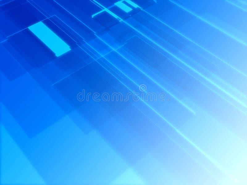 Hightech- Glühen stock abbildung