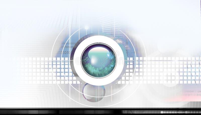 Hightech- Hintergrund lizenzfreie abbildung
