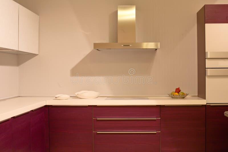 Hightech- Küche stockbilder