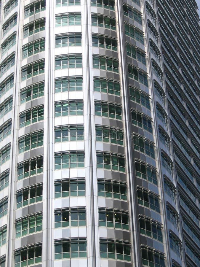 Hightech- schauendes Gebäude lizenzfreies stockfoto