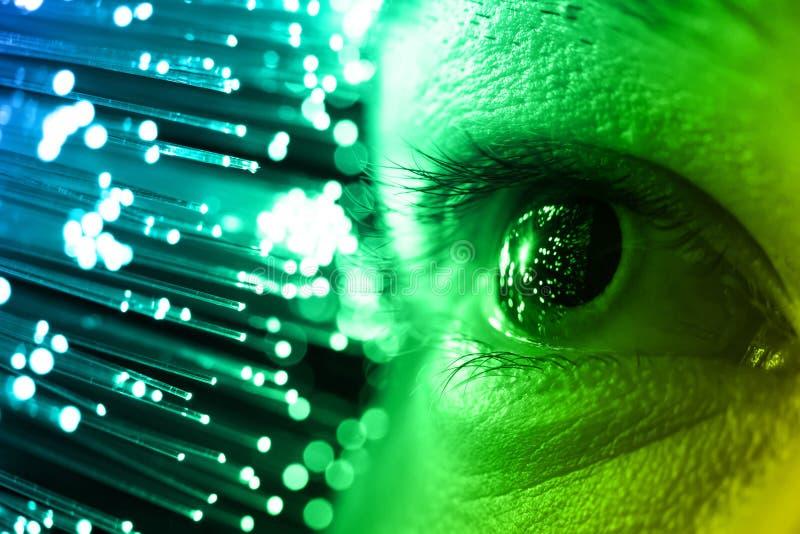 Hightech- Technologiehintergrund lizenzfreie stockfotos
