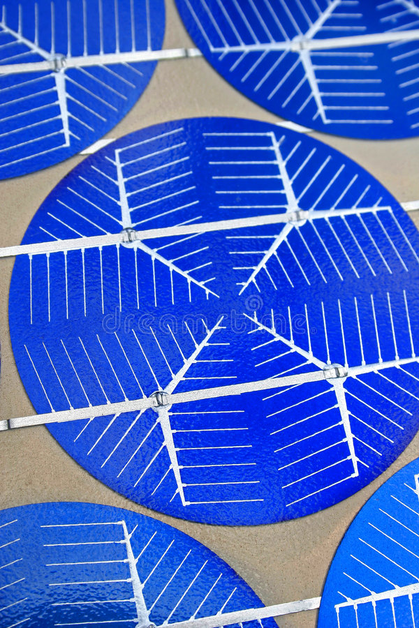 Hightechs-Solarzellentechnologie 02 stockbilder