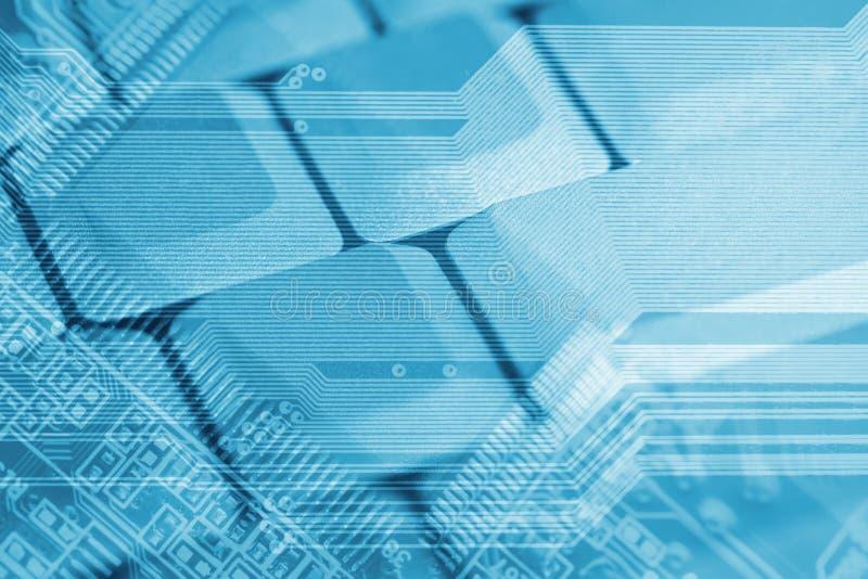 Hightechshintergrund lizenzfreies stockfoto
