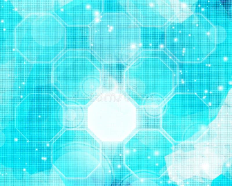 Hightechshintergrund lizenzfreie abbildung