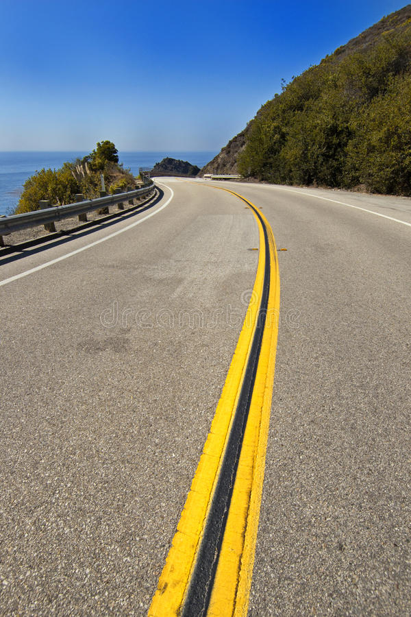 Highway 1 Royalty Free Stock Image