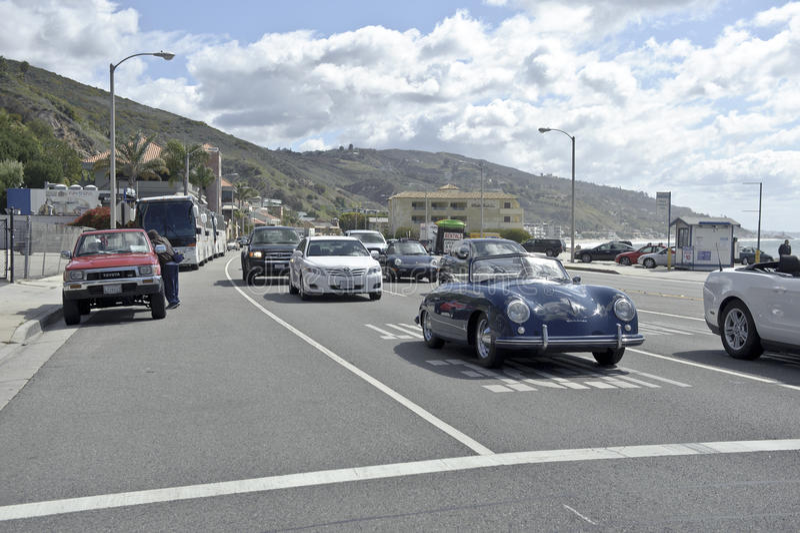 Download Highway 1 In Malibu In California Editorial Image - Image: 25963185