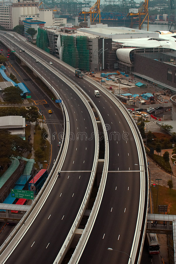 highway arkivbild