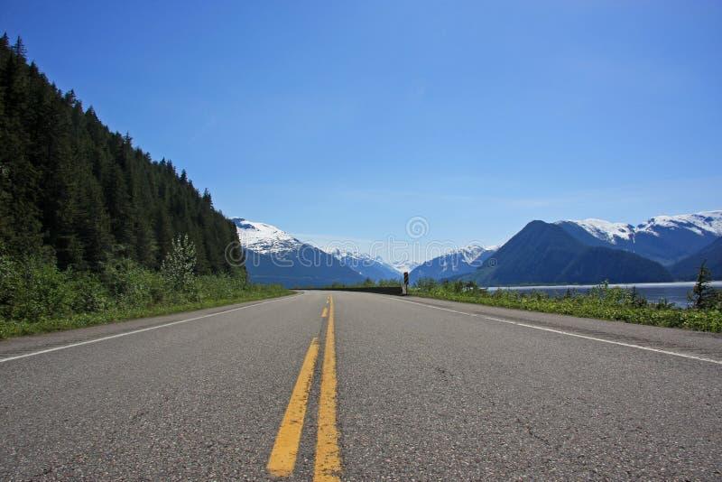Download Highway 16 Along Skeena River Stock Image - Image: 5411341