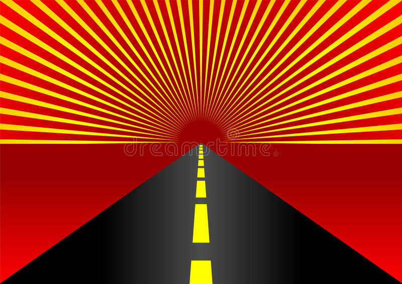 Download Highway stock vector. Image of background, fast, drive - 1870366