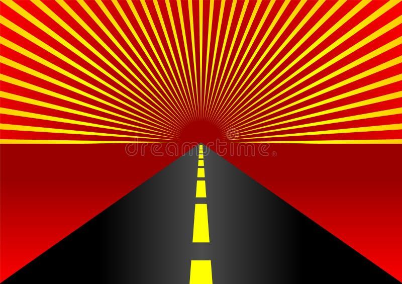 highway ilustracji