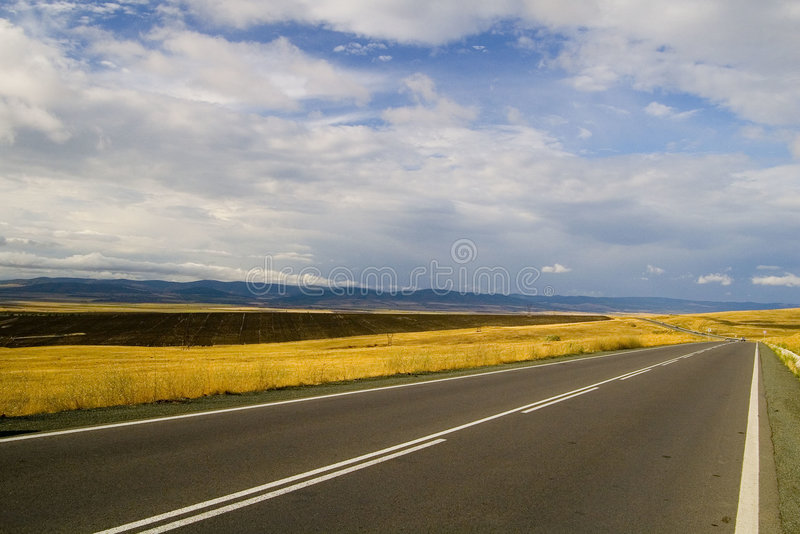 Highway royalty free stock image