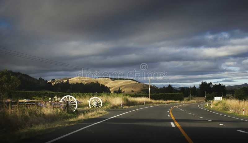 highway fotografia royalty free