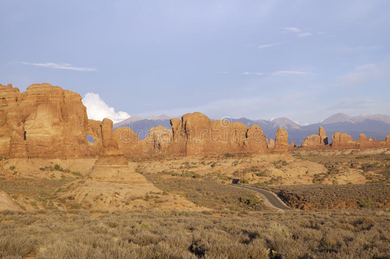 Download Highway Through Arches National Park Stock Photo - Image: 25836986