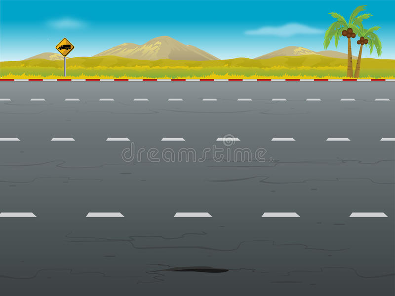 highway background stock illustration illustration of