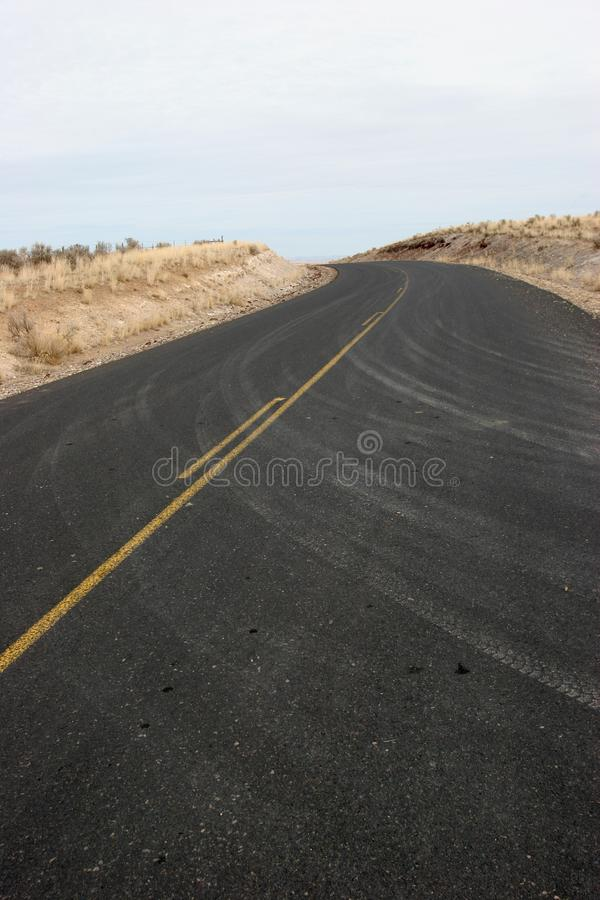Highway Curve royalty free stock photo