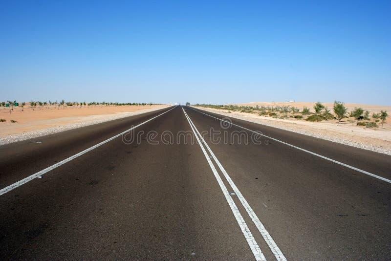 Download Highway through desert stock photo. Image of black, highway - 19265714